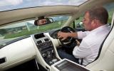 Driving the Aston Martin Rapide Shooting Brake hard