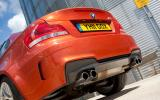 BMW 1 Series M Coupé quad-exhausts