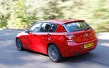 BMW 1 Series rear