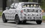 New BMW 1-series GT scooped