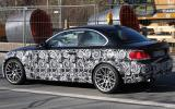 Hot new BMW 1-series spied