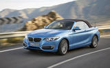 BMW 2 Series Convertible cornering