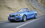 BMW 2 Series Convertible front quarter