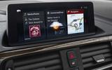 BMW 2 Series Convertible iDrive infotainment system