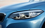 BMW 2 Series Convertible LED headlights
