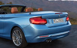 BMW 2 Series Convertible rear end