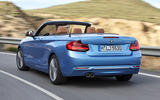 BMW 2 Series Convertible rear