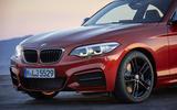 BMW 2 Series Coupé front end