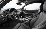 BMW 2 Series Coupé interior