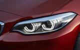BMW 2 Series Coupé LED headlights
