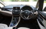 BMW 2 Series Gran Tourer dashboard