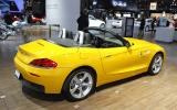 New York motor show: BMW Z4 4cyl