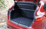 BMW 218d Active Tourer boot space