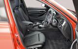 BMW 3 Series interior