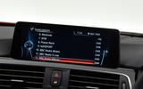BMW 3 Series iDrive system