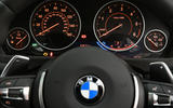 BMW 3 Series instrument cluster