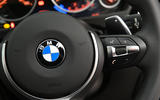 BMW 3 Series paddle shifters