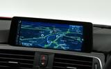 BMW 3 Series sat nav system