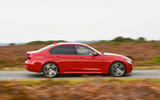 BMW 320d side profile