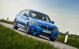 BMW 3 Series GT cornering