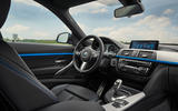 BMW 3 Series GT interior