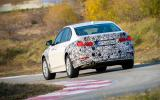 BMW 3 Series eDrive prototype rear cornering