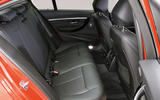 BMW 3 Series rear seats