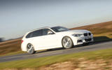 BMW 3 Series Touring cornering