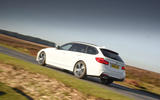 BMW 3 Series Touring rear cornering