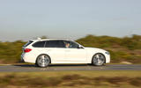 BMW 3 Series Touring side profile