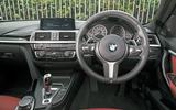BMW 330e dashboard
