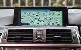 BMW 330e iDrive infotainment system