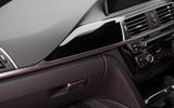 BMW 330e interior dash trim
