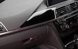 BMW 330e interior dash trim