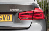 BMW 330e rear LED light