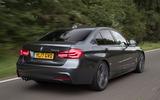 BMW 330e rear
