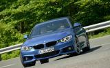 BMW 428i Gran Coupé cornering