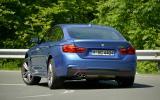 BMW 428i Gran Coupé rear cornering