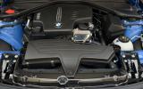 2.0-litre BMW 428i Gran Coupé engine
