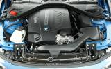 BMW 4 Series engine bay