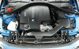 BMW 4 Series engine bay