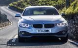 BMW 4 Series Gran Coupé front