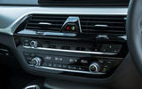 BMW 5 Series centre console