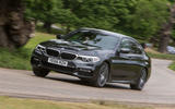 BMW 5 Series cornering