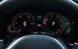 BMW 5 Series digital instrument cluster