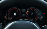 BMW 5 Series digital instrument cluster