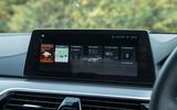 BMW 5 Series infotainment system