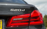 BMW 5 Series rear lights