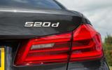 BMW 5 Series rear lights