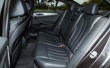 BMW 5 Series rear seats